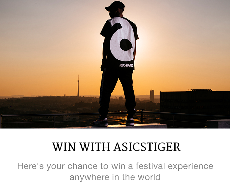 Asics Tiger competition