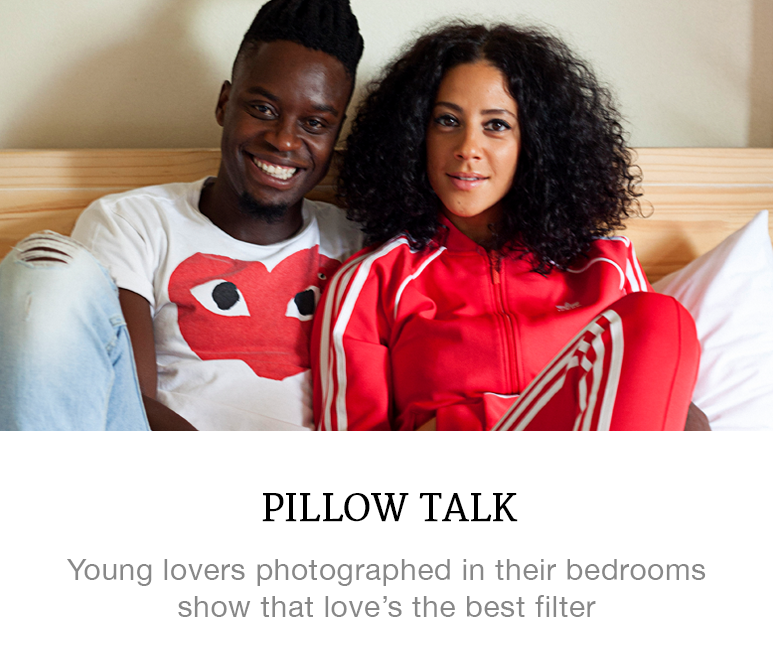South African couples photographed in bed