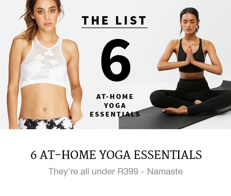 yoga mat water bottle activewear gym gear shop superbalist blog
