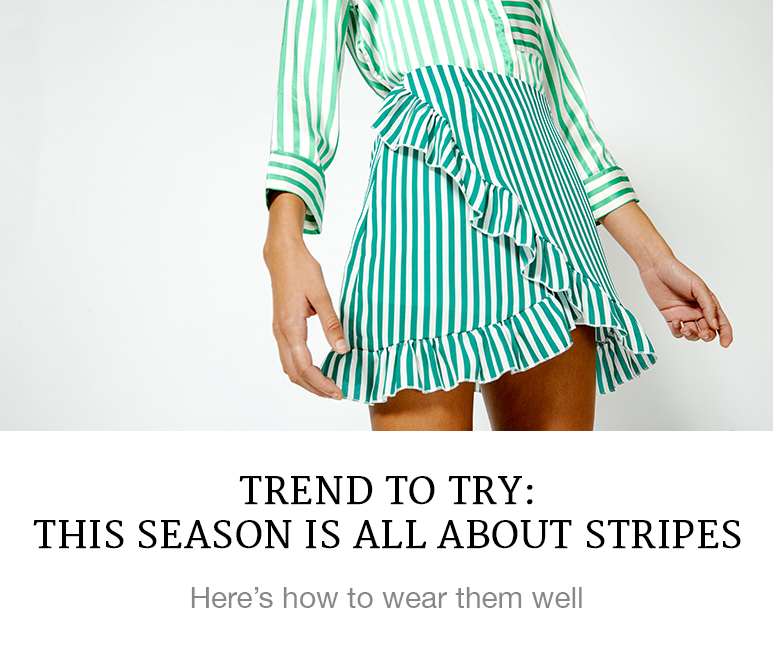 Trend to Try: This Season is All About Stripes