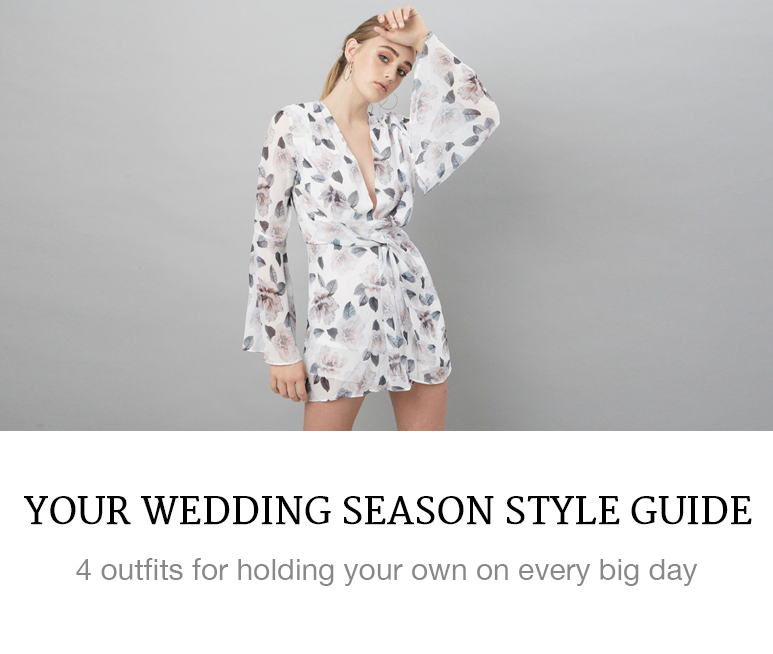 Your wedding season style guide