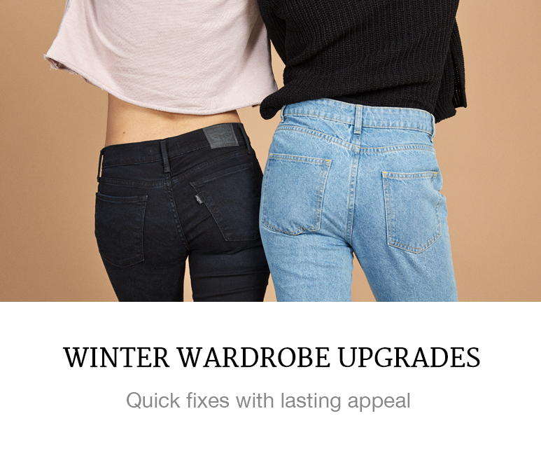winter wardrobe upgrades