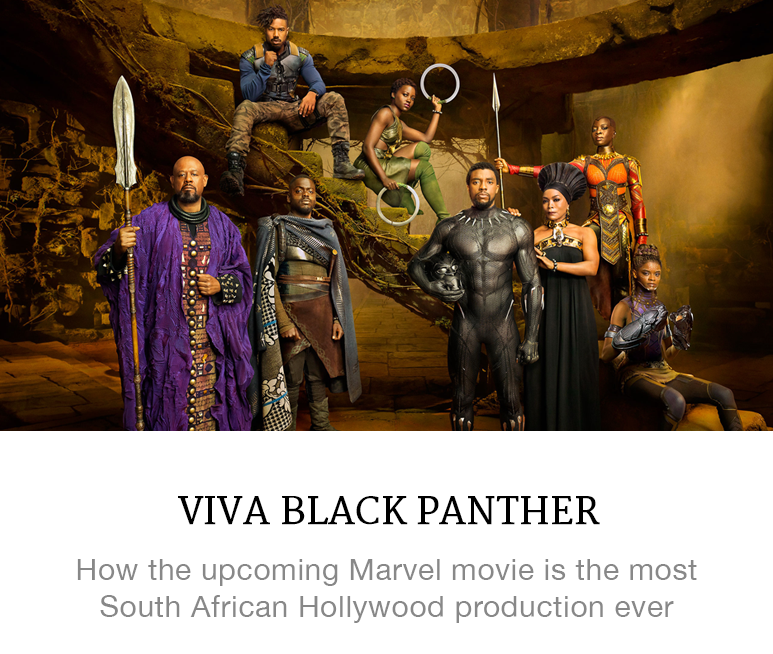Is Black Panther the most South African movie ever?