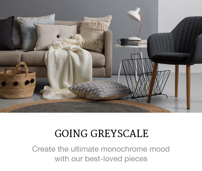 monochrome greyscale decor superbalist apartment blog
