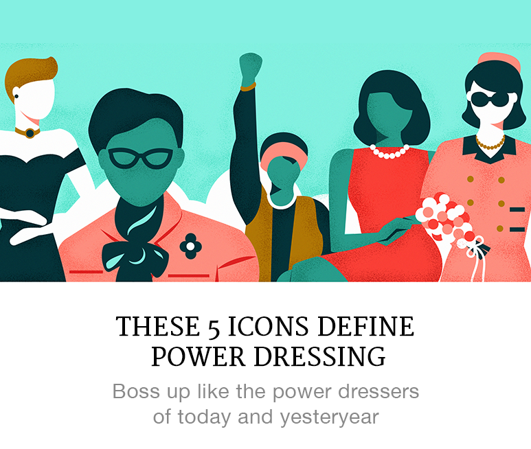 iconic power dressers