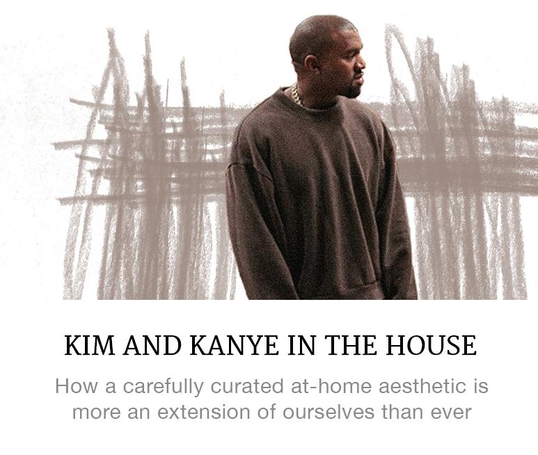 Kim and Kanye decor