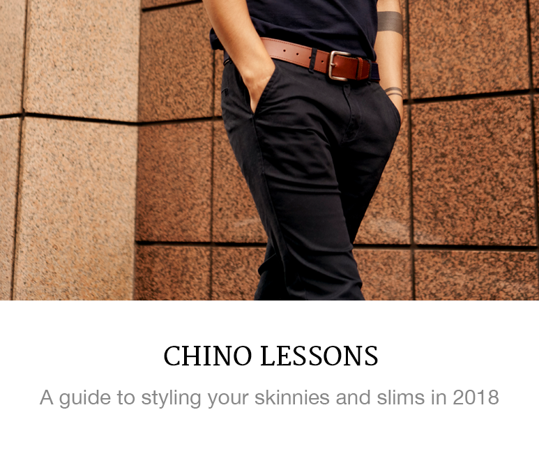 New Ways to Wear Chinos