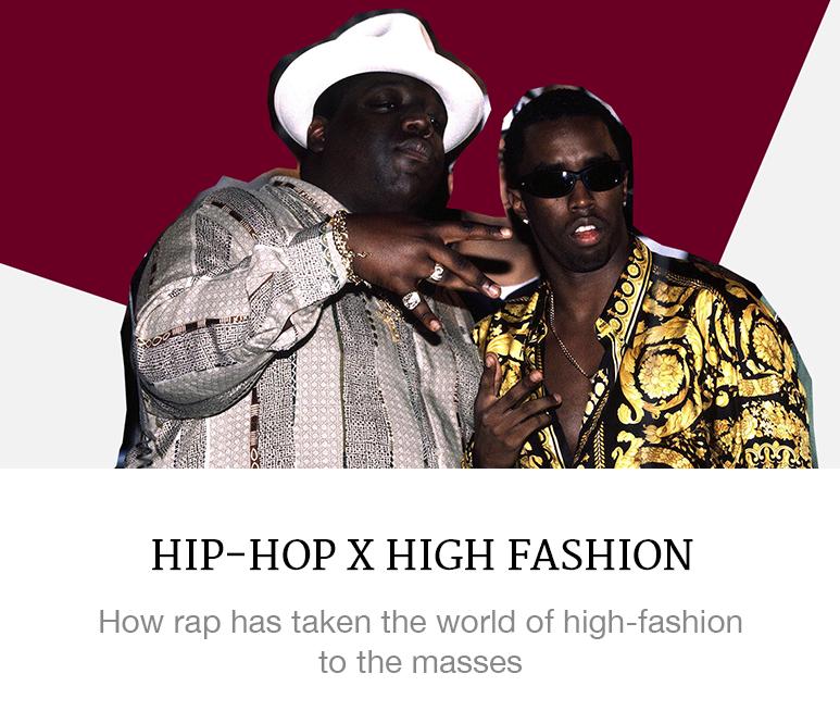 Hip-hop x high fashion