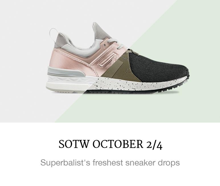 October sneaker drops