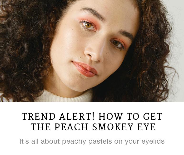Trend Alert! How to Get the Peach Smokey Eye