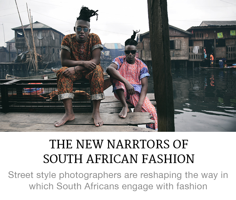 new narrators of South African style