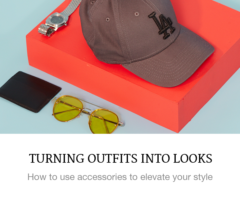 turn outfits into looks