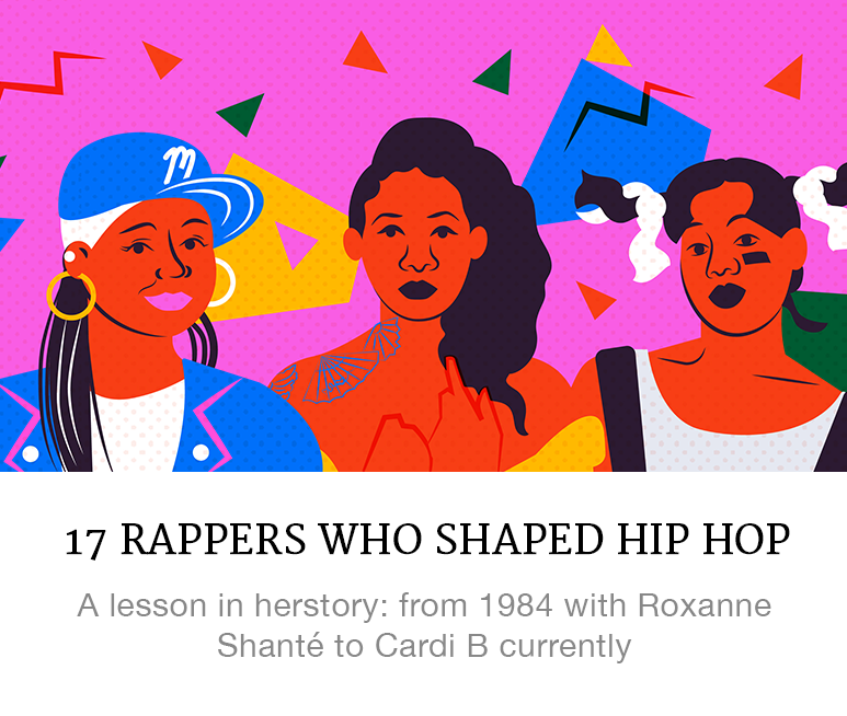 17 Women Who Have Shaped Hip Hop
