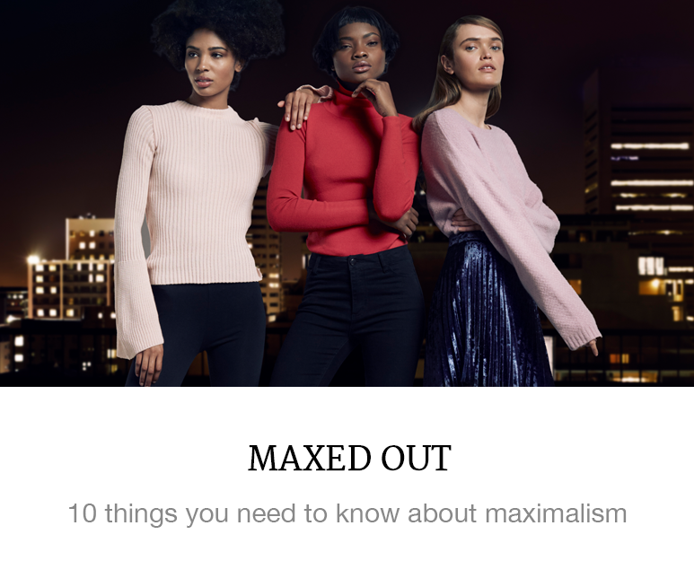 maximalist fashion trend shop superbalist