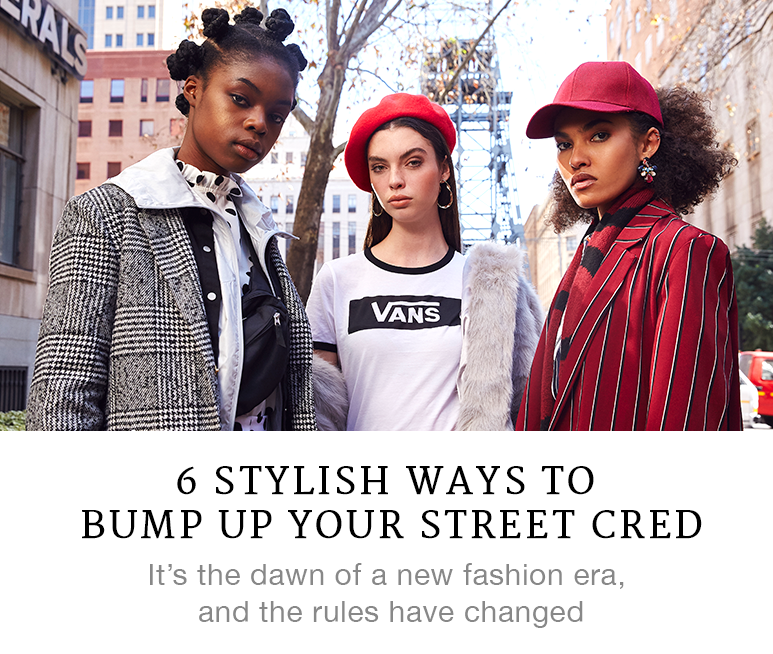 6 Stylish Ways to Bump Up Your Street Cred