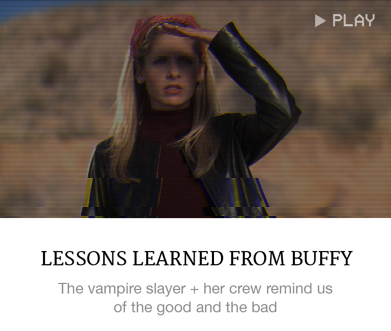 TV Style Lessons: Buffy