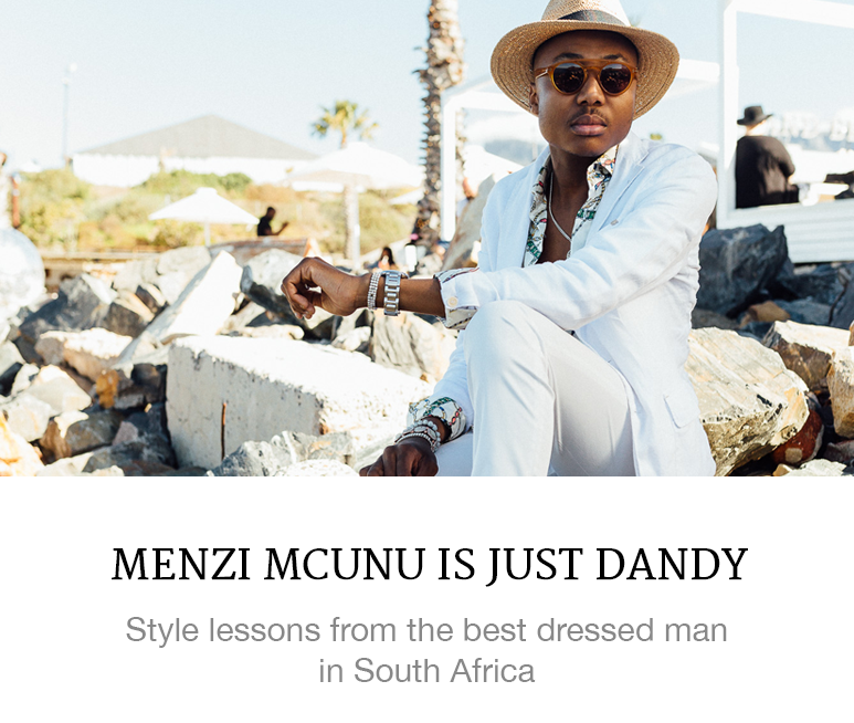south africa's best dressed man