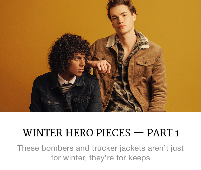winter hero pieces