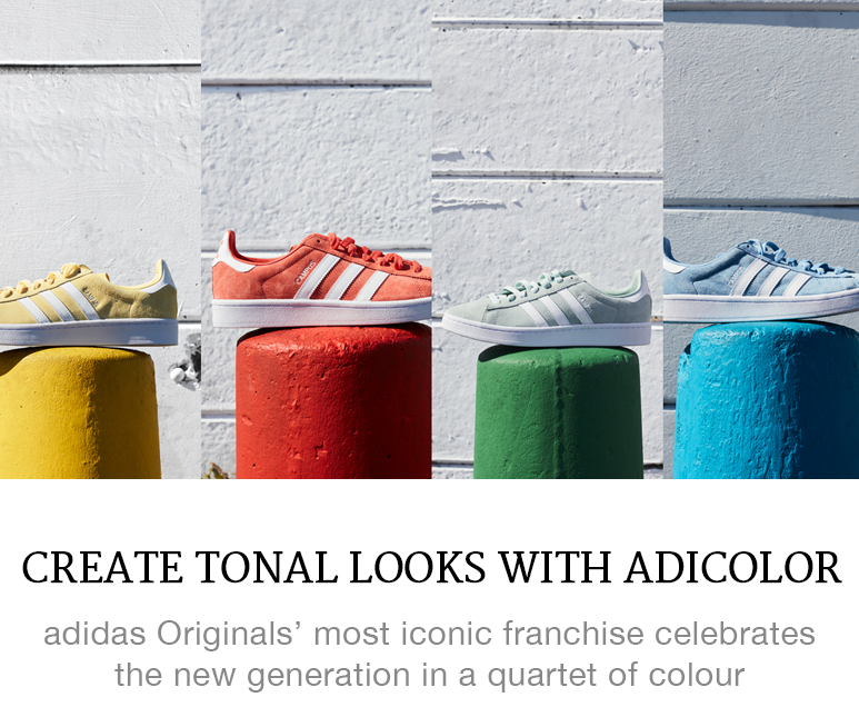 Create Tonal Looks With Adicolor