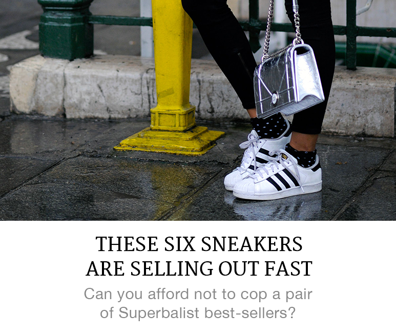 These Six Sneakers are Selling Out Fast