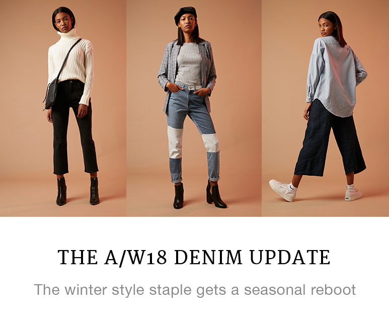 The A/W18 Denim Update