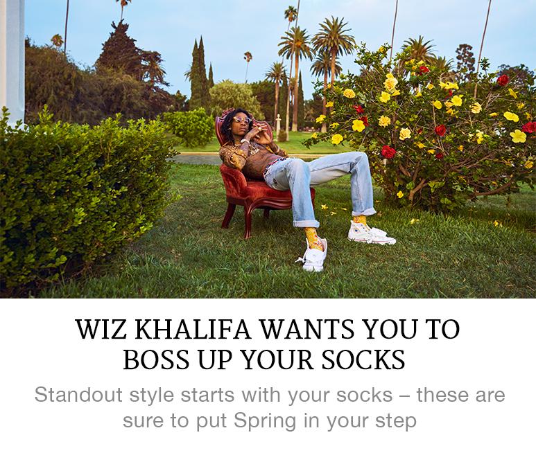 Wiz Khalifa socks