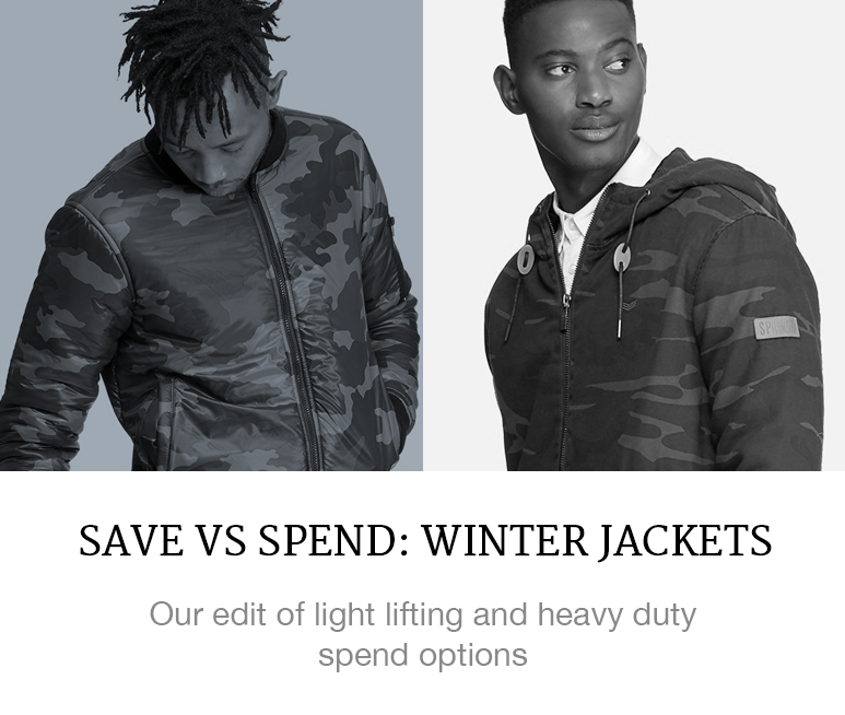 menswear fashion winter jackets camo military trend shop online superbalist blog