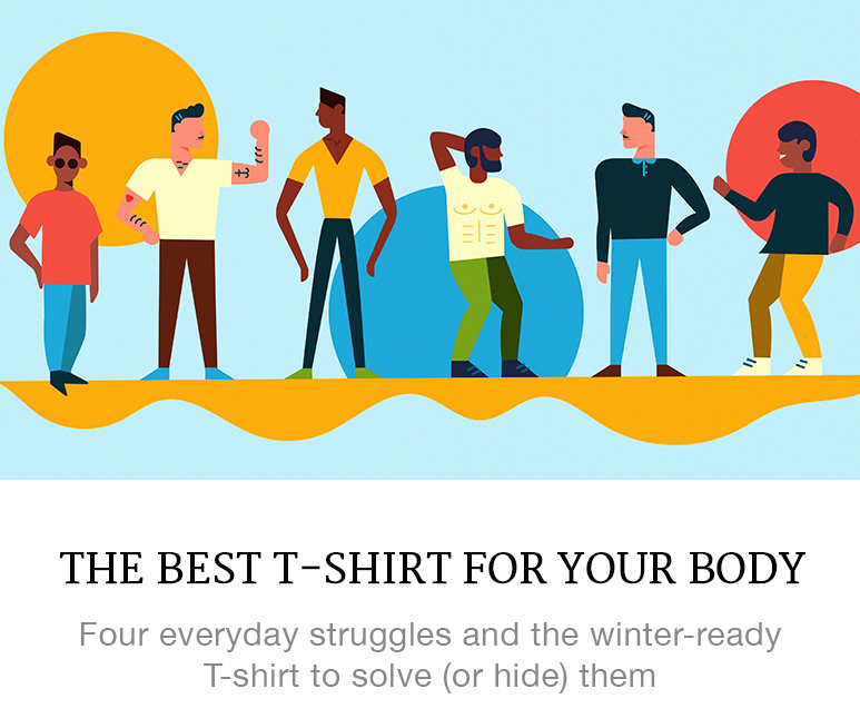 the best t-shirt for your body
