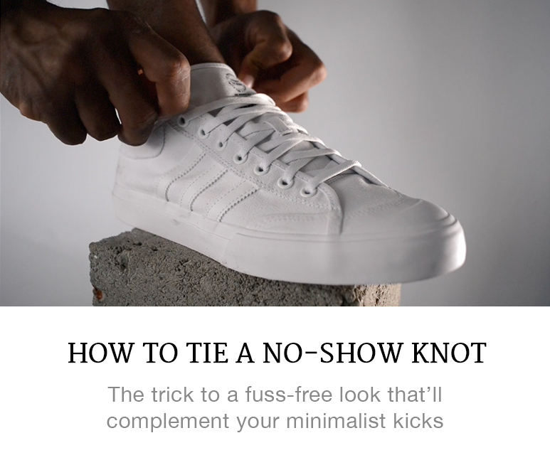 how to tie your laces like a sneakerhead