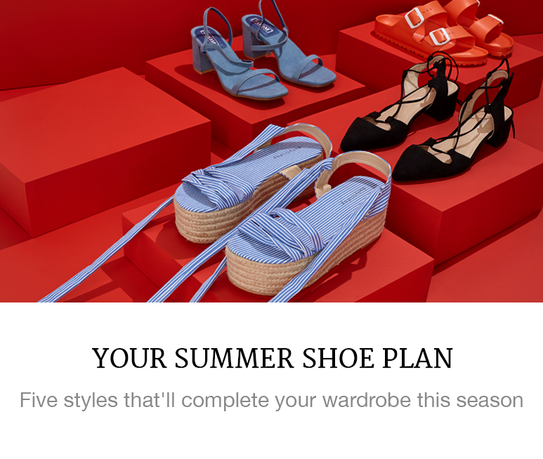 Your Summer Shoe Plan