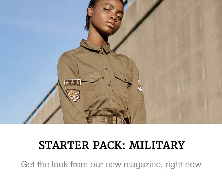 military fashion starter pack superbalist shop blog