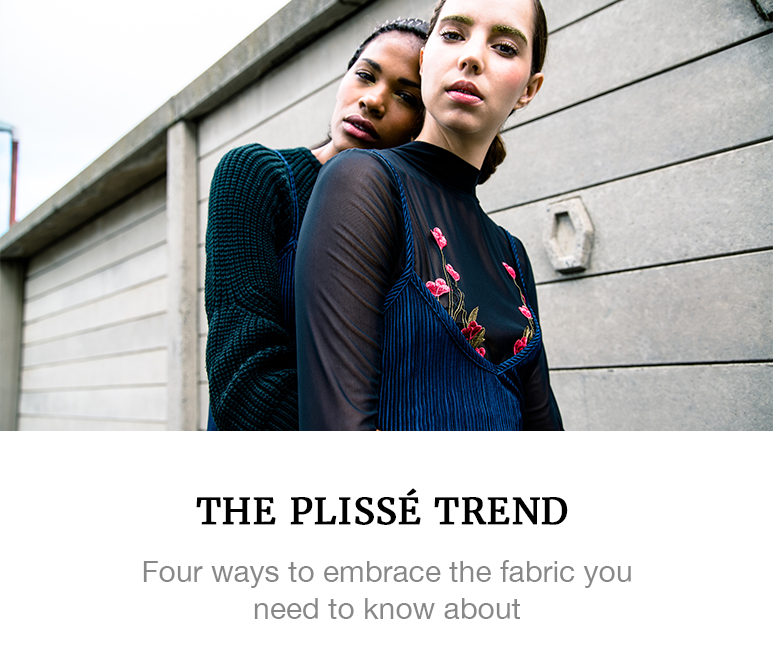 How to wear plisse