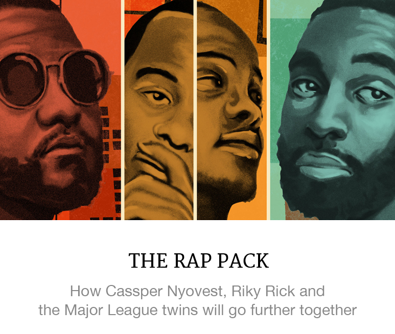 South African rap pack