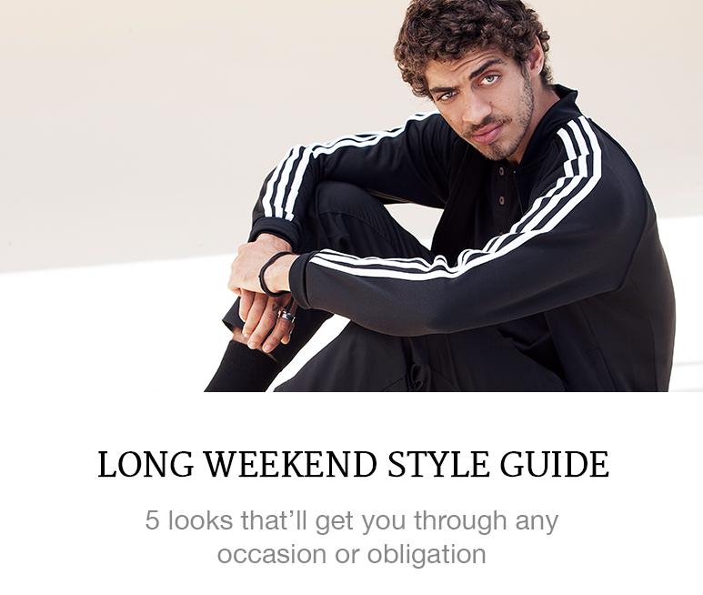 long weekend style guide menswear
