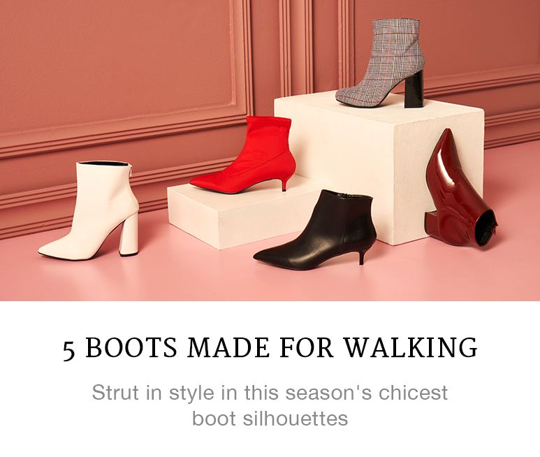 5 Boots Made For Walking