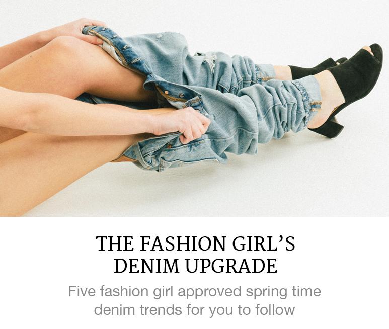 Fashion girl's denim guide