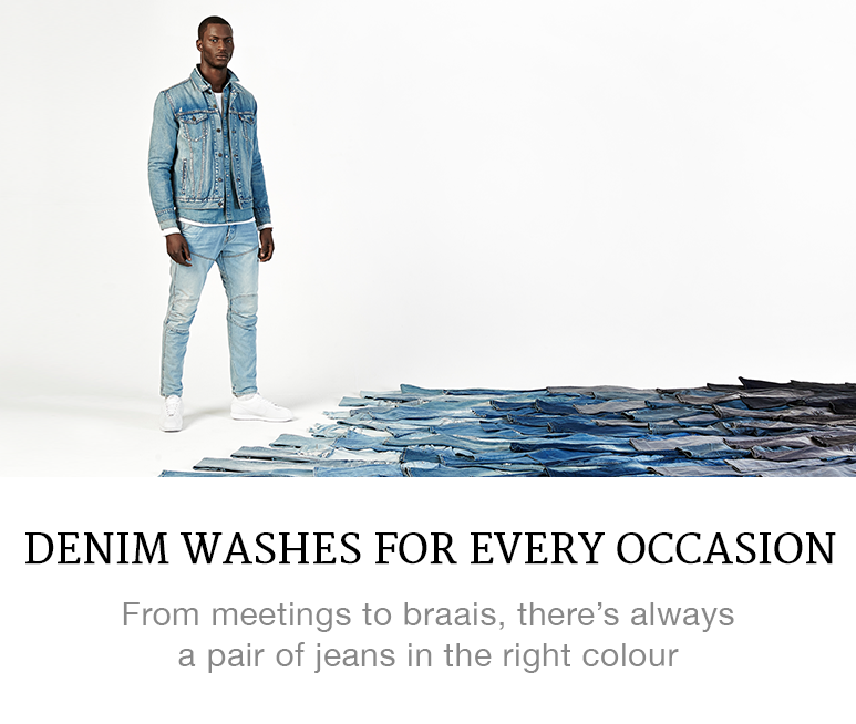 denim washes for men