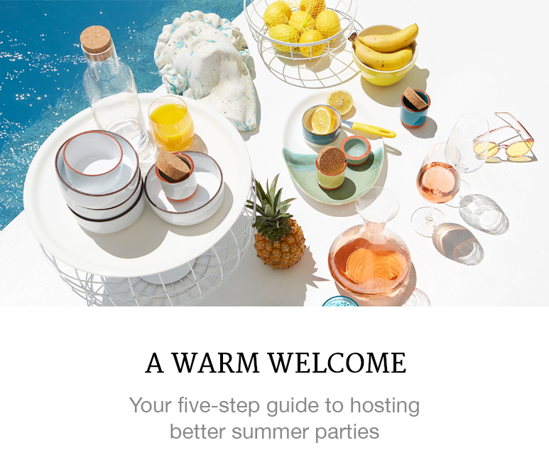 how to host summer parties