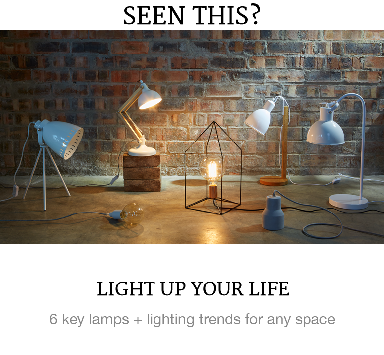 lighting decor superbalist