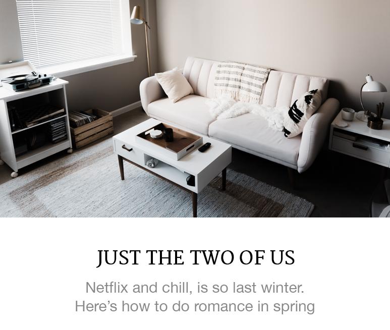 Romancing at home