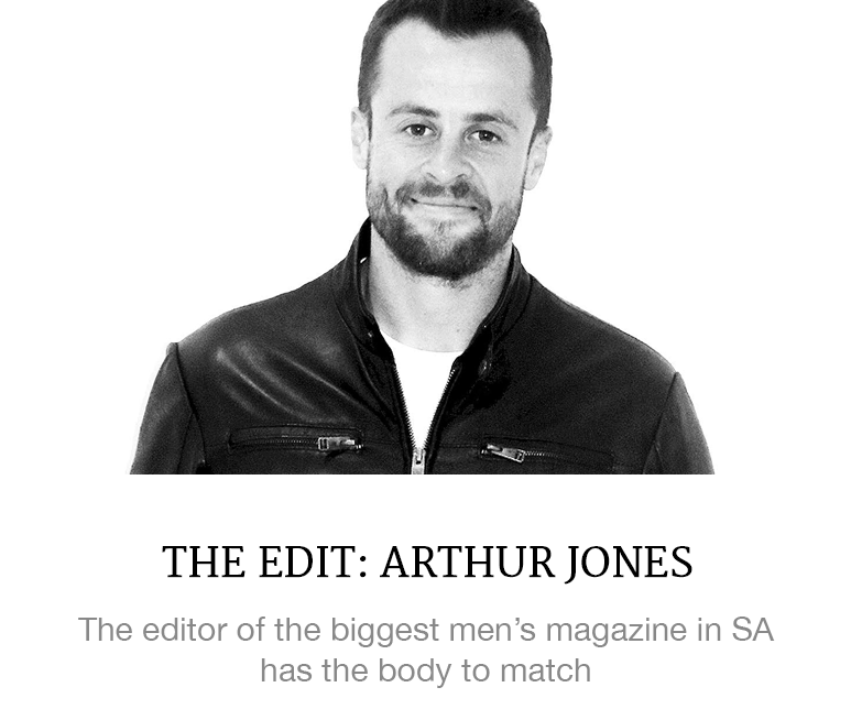 Arthur Jones Men's Health editor