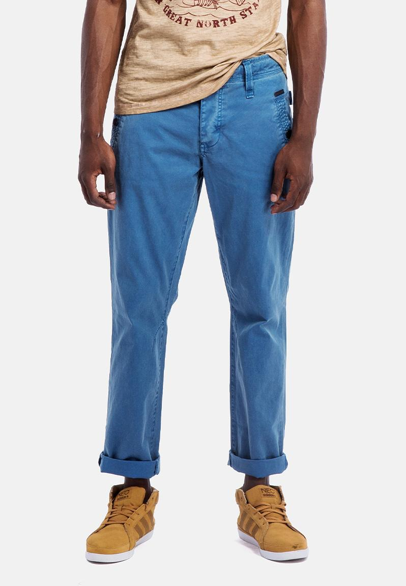 Enfield Chino Dark Blue Brenham Pants Superbalist Com