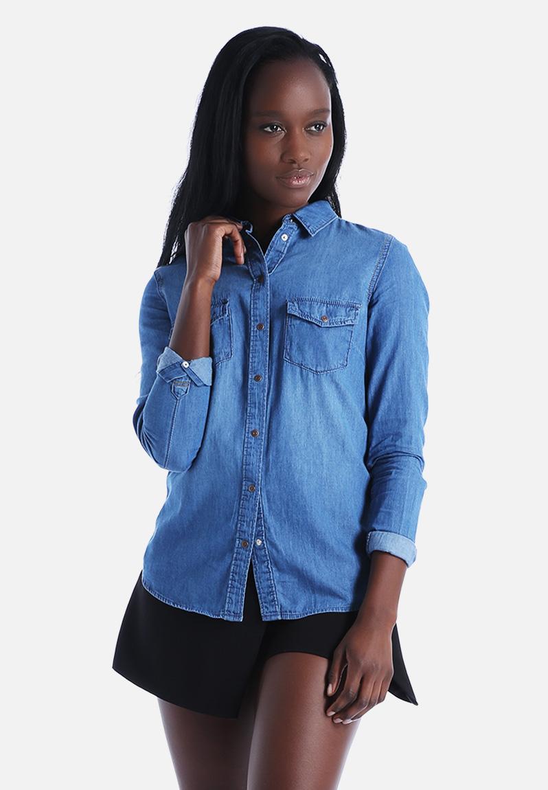 LI SS15 DENIM SHIRT New Look Shirts | Superbalist.com