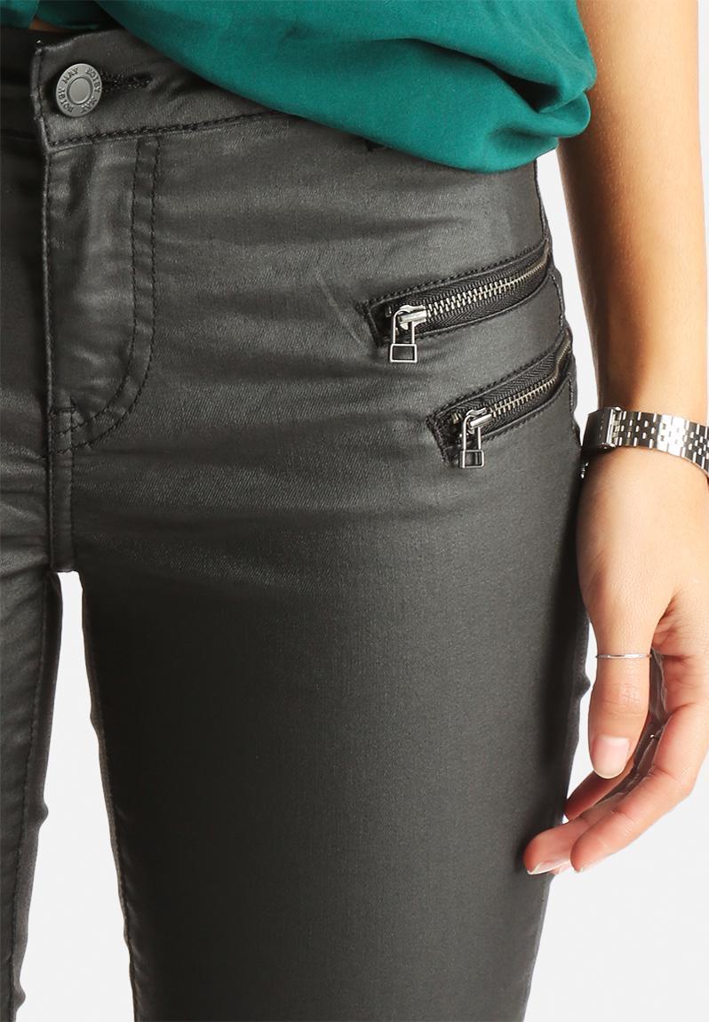 Noisy may fame coated skinny jeans