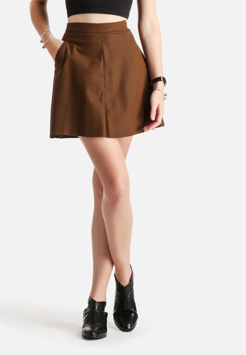 Fair Suede Skirt