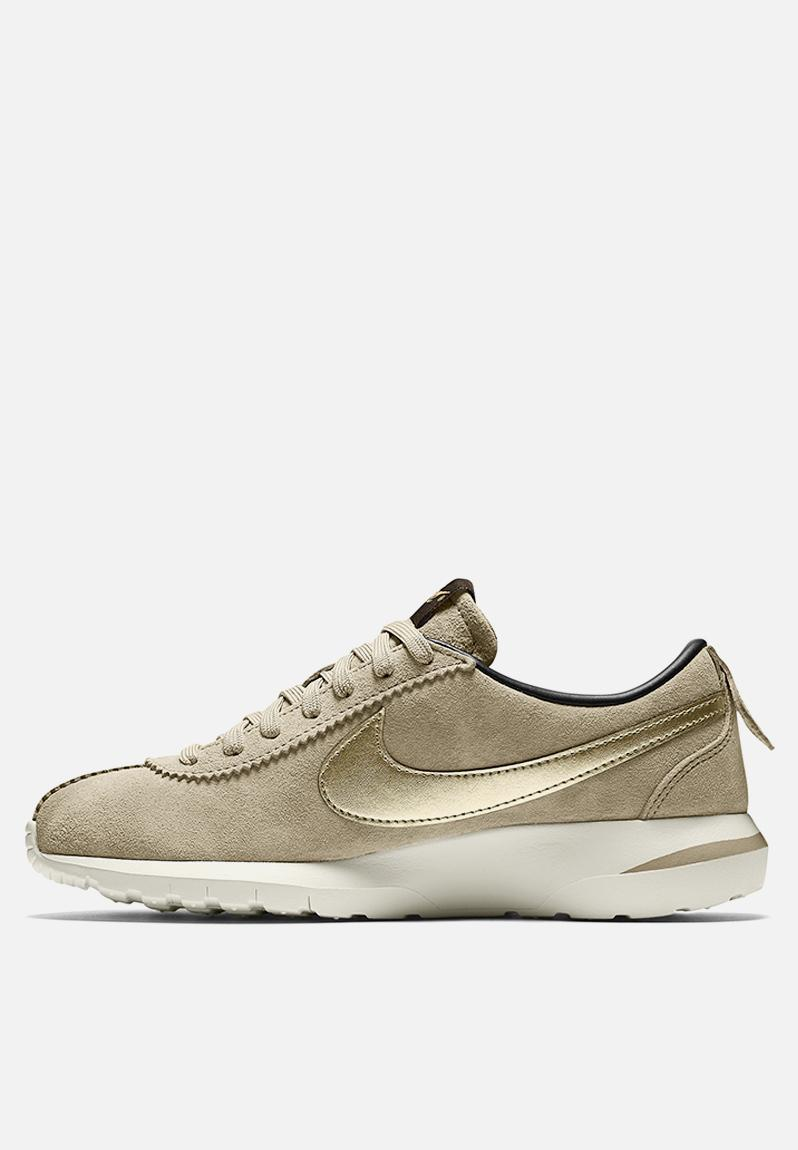 Nike Roshe Cortez NM PRM Suede - 819862-200 - String / Metallic Gold