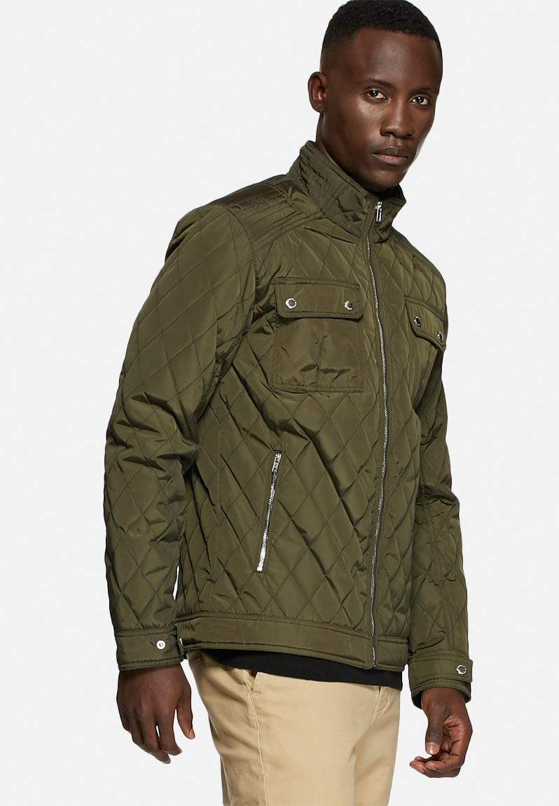 John Quilted Jacket - Forest Night Selected Homme Jackets ... : selected quilted jacket - Adamdwight.com