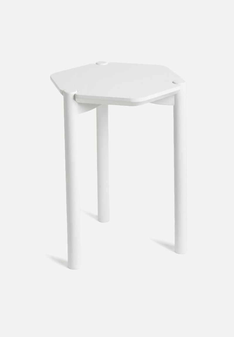 Hexa Side Table White Umbra Desks Superbalist Com