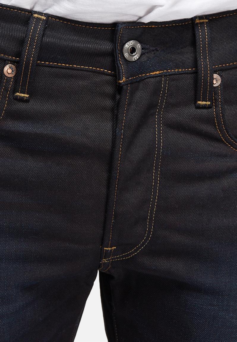 3301 straight hydrite denim indigo aged g star raw jeans. Black Bedroom Furniture Sets. Home Design Ideas