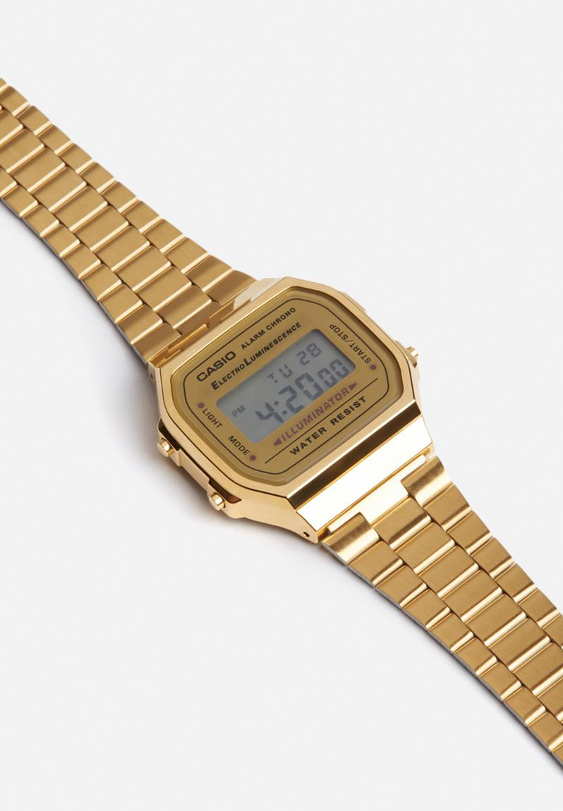 digital wrist watch gold casio watches superbalistcom